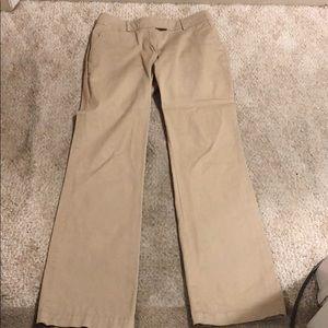 New York & co women's 0 kacki bootcut pants